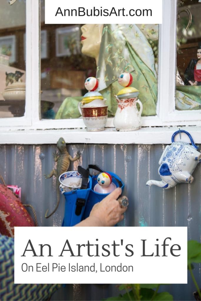Ann Bubis - Eel Pie Island Studio