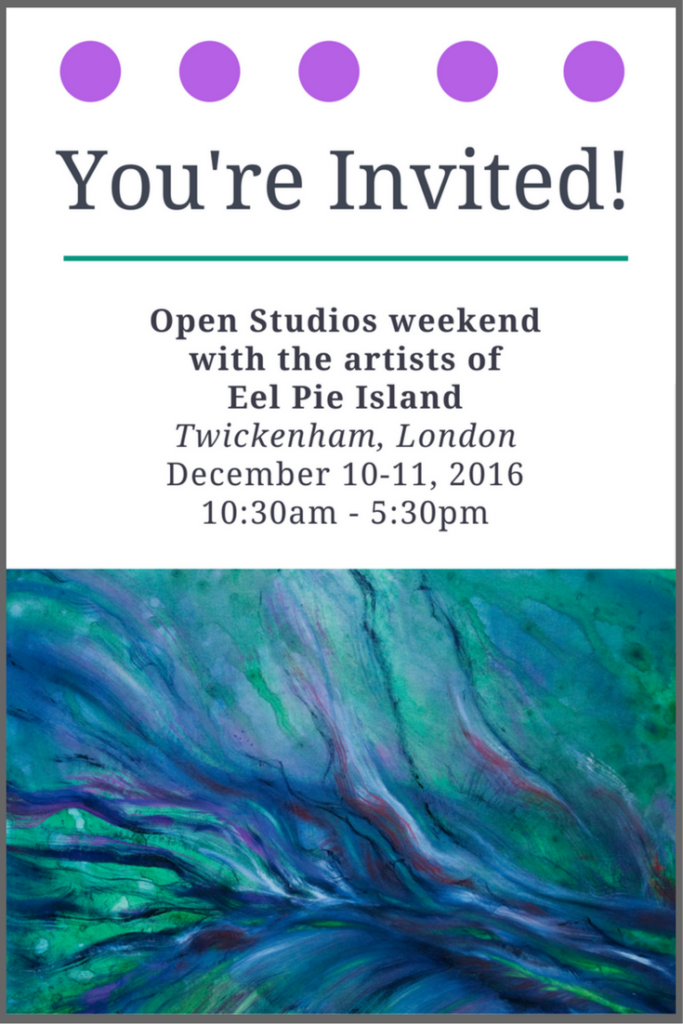 Open Studios Weekend on Eel Pie Island: December 2016